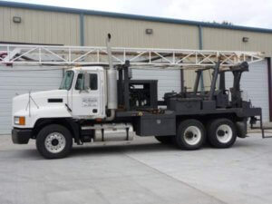 Scott Drilling Inc - Well Drilling Contractor - Truck