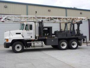 Scott Drilling Inc - Well Drilling Contractor - Truck